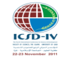 Fourth International Conference for Science and Development (ICSD-IV)